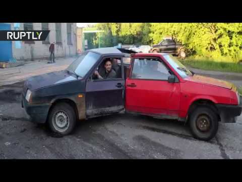 Russian Fidget Spinner: Spin those cars and burn some tires