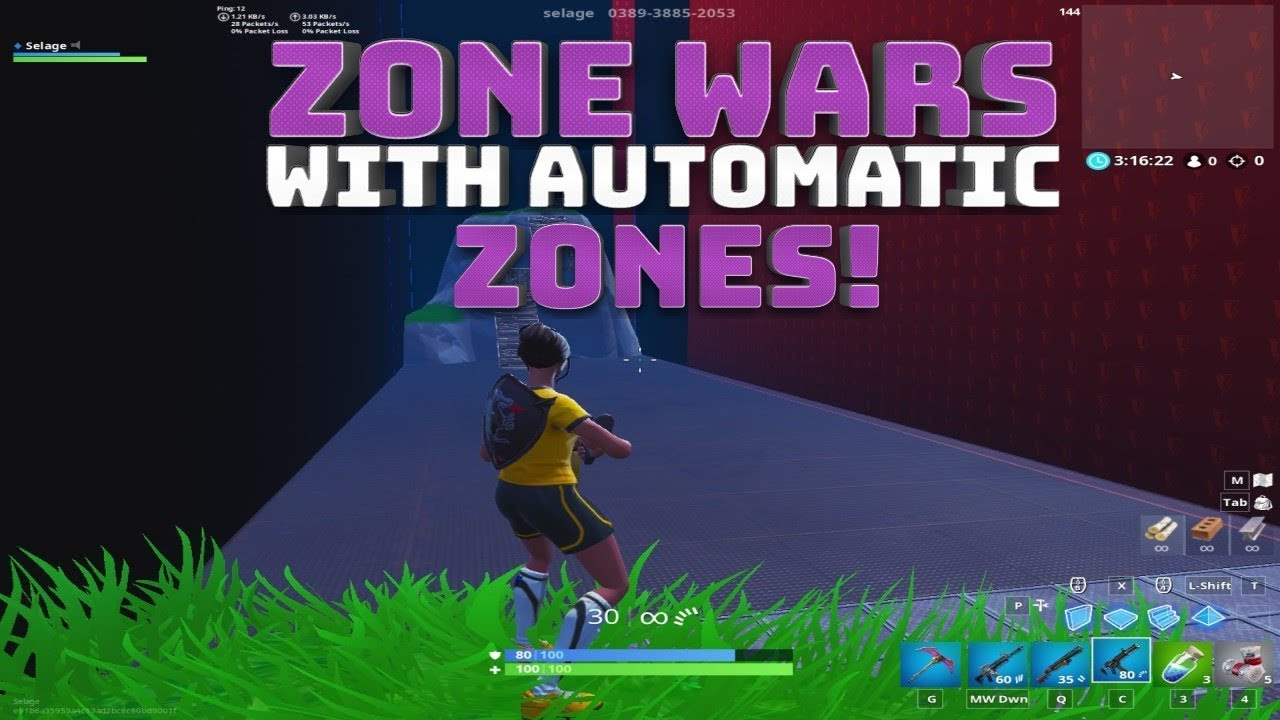 Zone Wars With Automated Moving Zones Fortnite Battle Royale