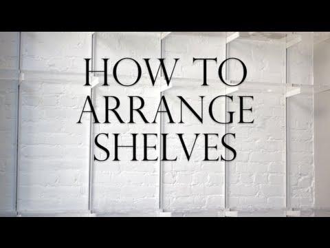 How To Arrange Shelves  YouTube