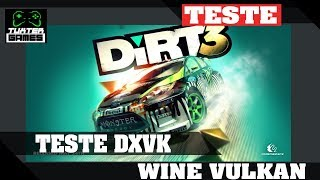Dirt 3 DXVK // Wine 3.5 Staging via Lutris HD