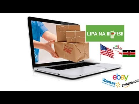 Shipping from your favorite Store in the U.S.A to Kenya at $15 per KG// Amazon, eBay,Walmart,Argos..