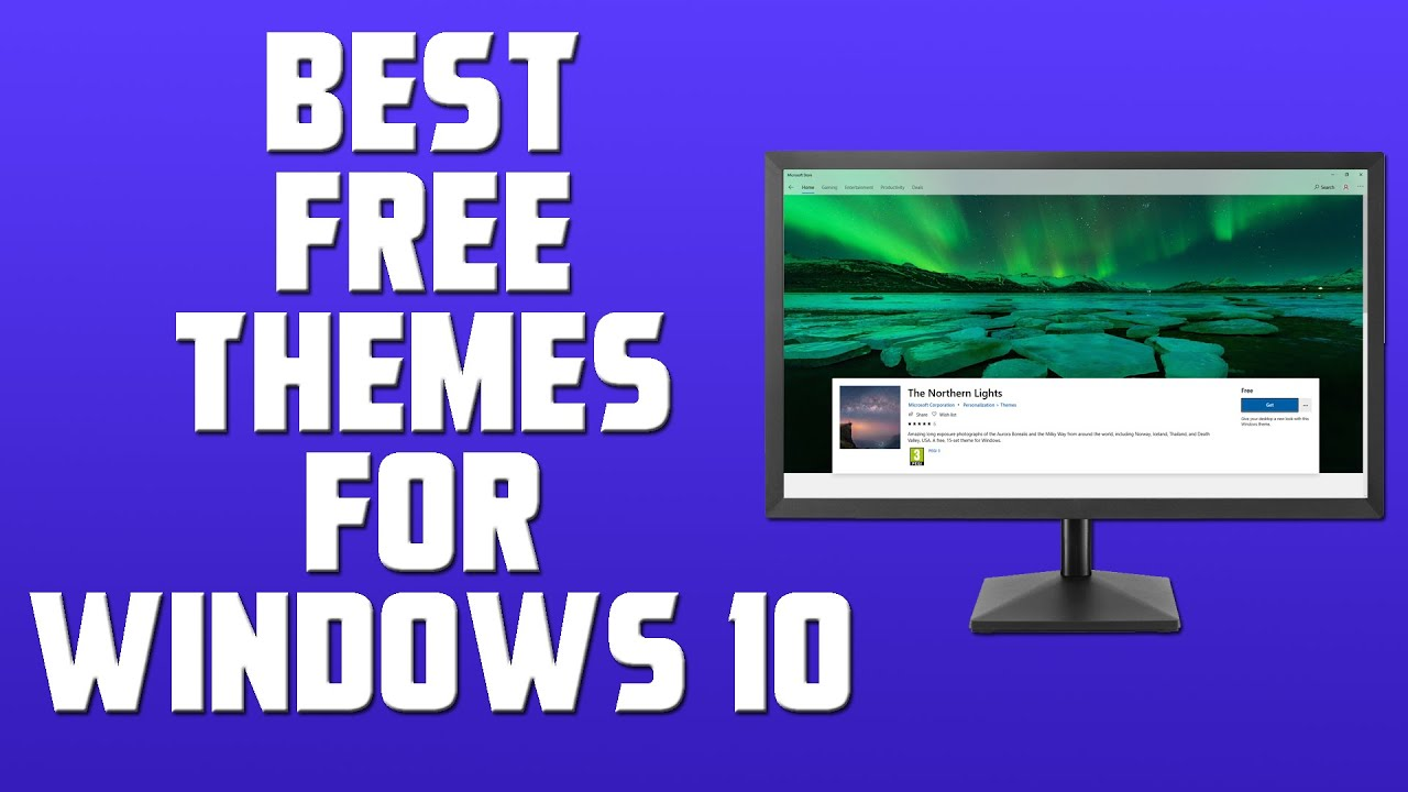 Download Best Free Themes For Windows 10