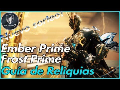WARFRAME 2019 Ember Prime y Frost Prime Guia de todas sus reliquias y nuevo sorteo ;) thumbnail