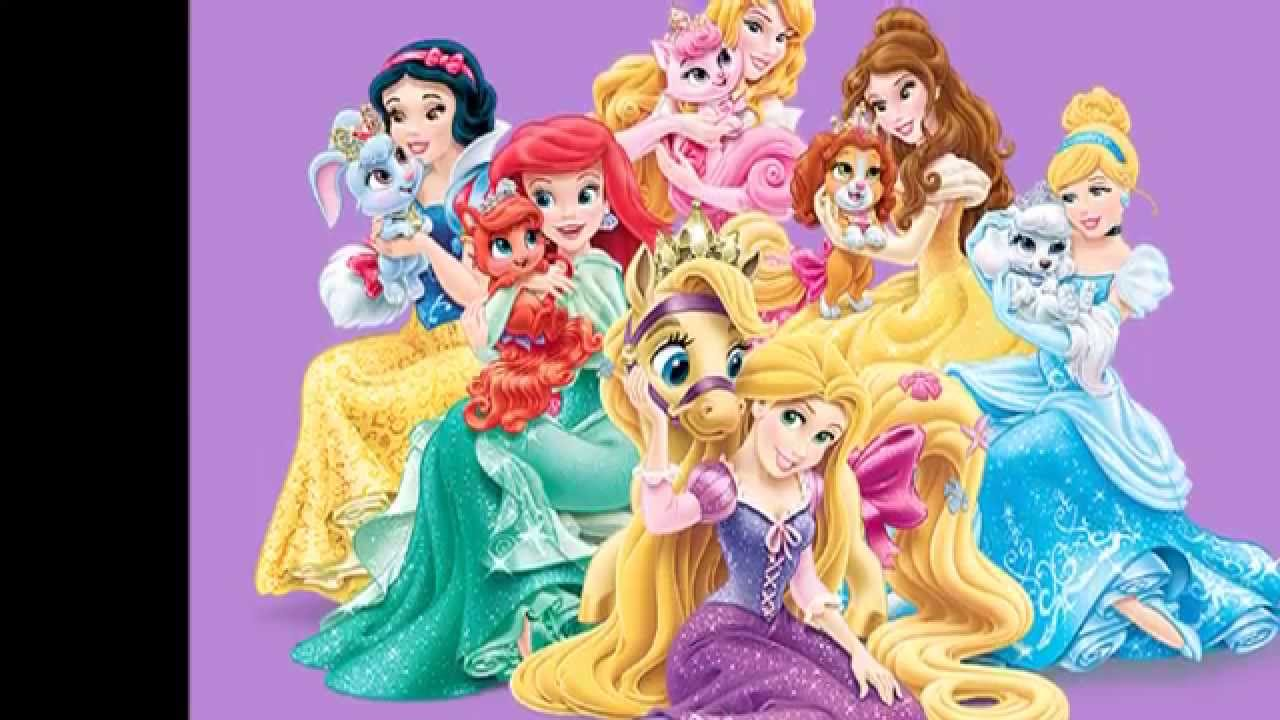 Tributo a las princesas disney youtube - Muebles de princesas disney ...