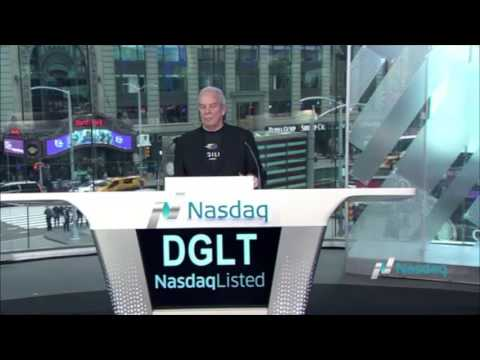 Digiliti Money rang the Nasdaq closing bell on May 8, 2017.