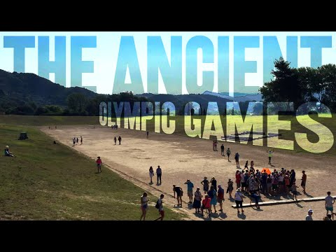 The Ancient Olympic Games (Day 2051 - 7/7/15)