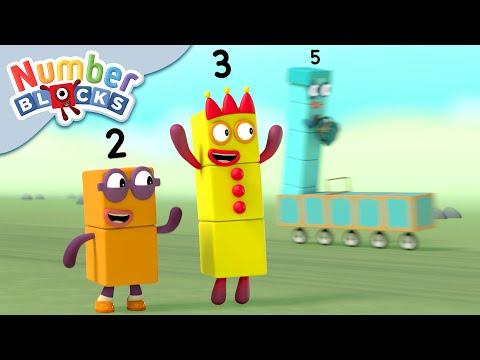 Numberblocks - Speedy Adventurers | Learn To Count
