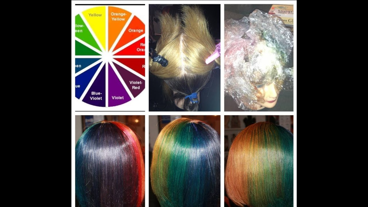 mannequin doll color wheel - YouTube