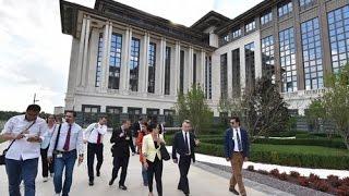 Cumhurbaşkanlığı Külliyesi İdari Binaları Basına Açıldı 03.07.2015