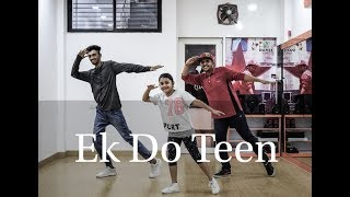 Ek Do Teen | Dance Choreography By Vijay Akodiya |  Baaghi 2 | Jacqueline F |Tiger S |