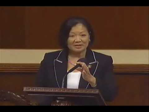 Congresswoman Mazie Hirono Reaffirms Support for National Healthcare Reform