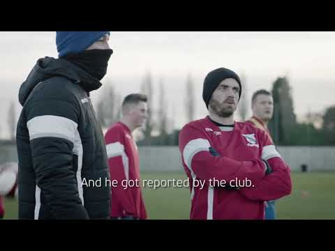 Our very own Liam Davis, a video made by UEFA