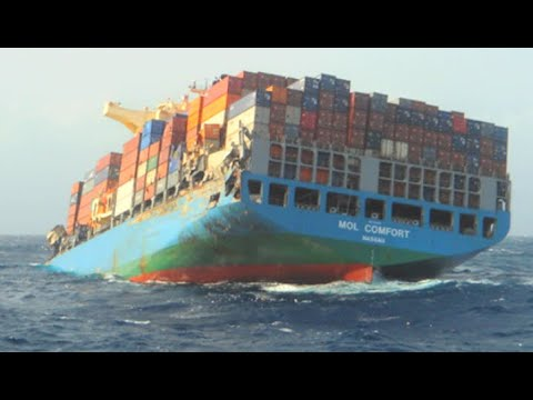 Top 10 Most Largest Container Ships 2021! Big Cargo Ships Crashing & Collision