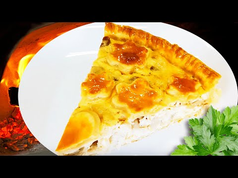 Creamy Chicken And Mushroom Pie With Shortcrust Pastry