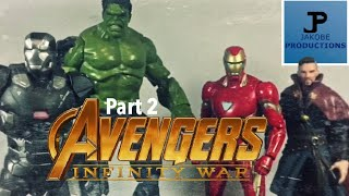 Avengers: Infinity War [Part 2] (Stop Motion Film Series)