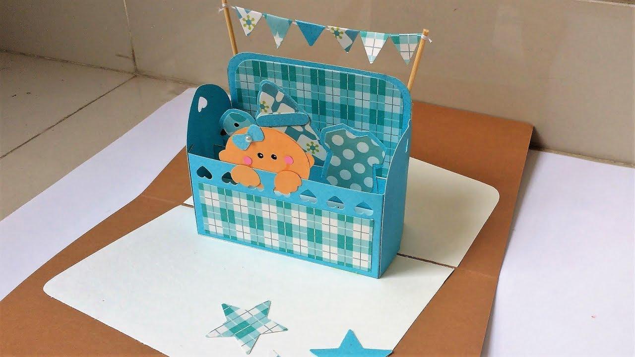 DIY Baby Shower Card Tutorial