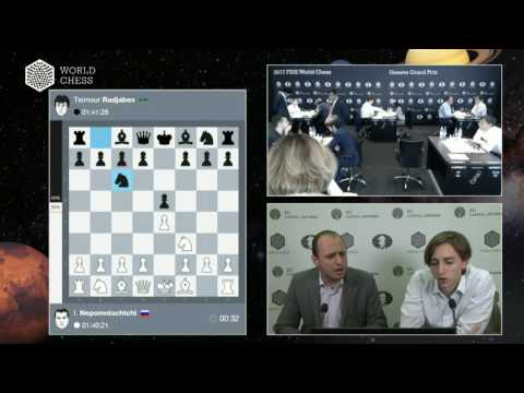 FIDE World Chess Geneva Grand Prix Round 9