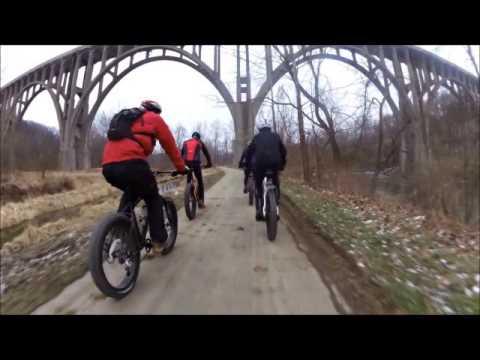 Global Fat Bike Day 2014 - Peninsula, Ohio