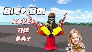 Bird Boi Saves The Day, Then DIES!!! - Roblox