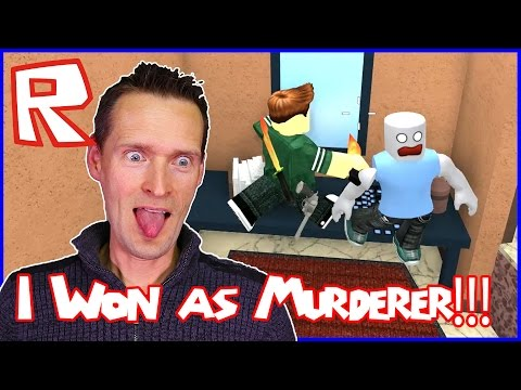 I Won As Murderer In Murder Mystery 2!