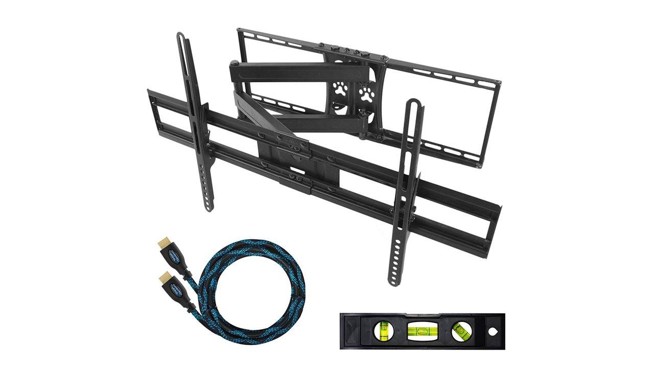 Staffa da parete a braccio articolato per tv e monitor da - Braccio mobile per tv ...