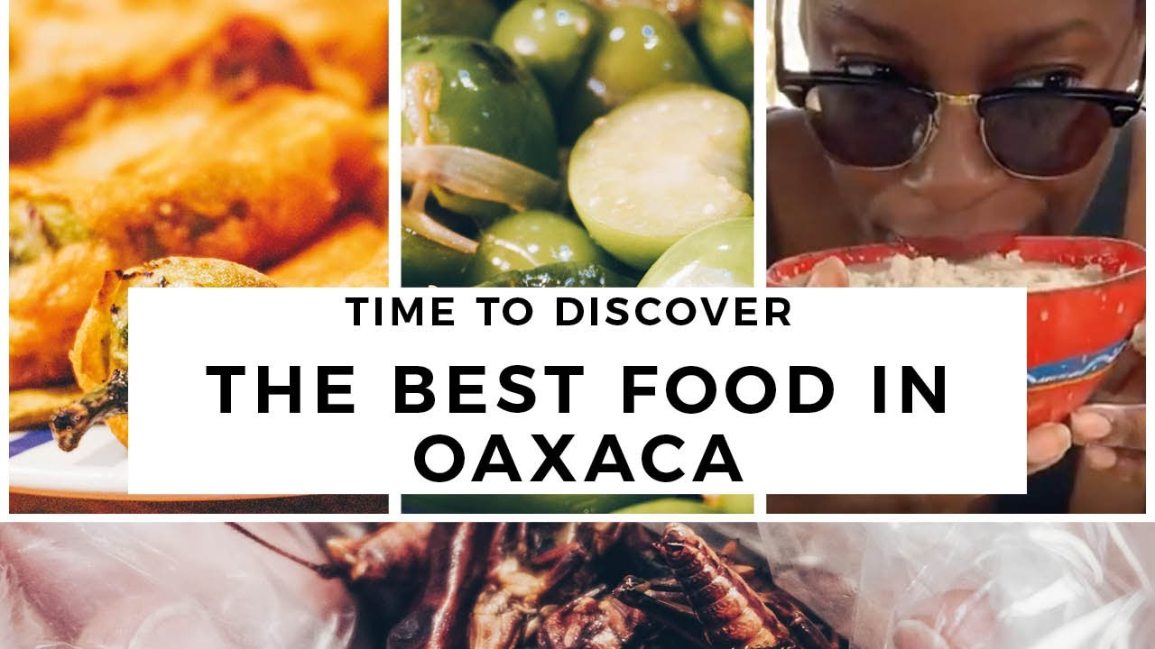 INCREDIBLE FOOD IN OAXACA - Street Food Market, Cooking Class + DELICIOUS Eats