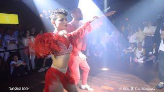 ROBERT & ANA Interviewed By NOELIA & Salsa Dance Performance THE SALSA ROOM
