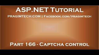 Captcha control in asp net