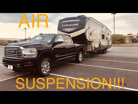 2019 RAM 2500 - Air Suspension Test!!! - Does It Work/Worth It???