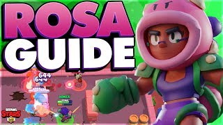 How to Play Rosa - Advanced Rosa Guide - Brawl Stars