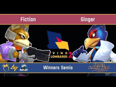 Saving Mr. Lombardi 2 - Fiction (Fox) VS Ginger (Falco) - SSBM - Winners Semis