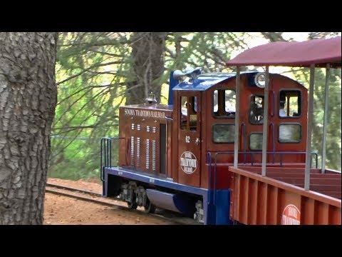 Train Ride - Sonoma Train Town Railroad in California