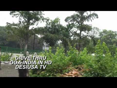 GOA INDIA A DRIVE THRU SOUTH GOA TO NORTH GOA ON A BIKE IN HD BY DESIUSA TV