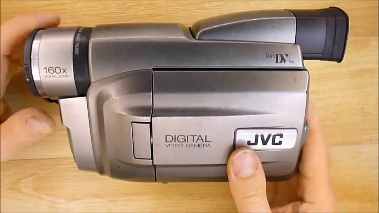 Crappy JVC mini DV camcorder