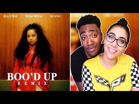 Ella Mai – Boo'd Up (Remix) Ft. Nicki Minaj & Quavo | REACTION VIDEO | NICKI & QUAVO DATING ??😳😱