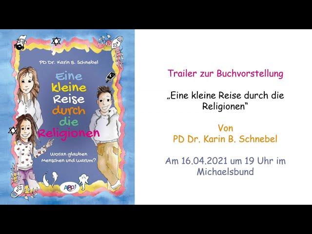 Buchvorstellung: Eine kleine Reise durch die Religionen am 16.04.2021