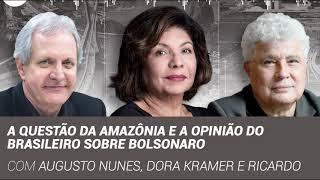 As queimadas na Amazônia e a opinião do brasileiro sobre Bolsonaro