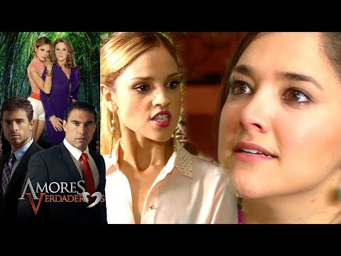 Amores Verdaderos: ¡Nikki Se Enfrenta A Liliana!   Escena - C13   Tlnovelas