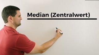 Median (Zentralwert), Statistik, Hilfe in Mathe, einfach erklärt | Mathe by Daniel Jung