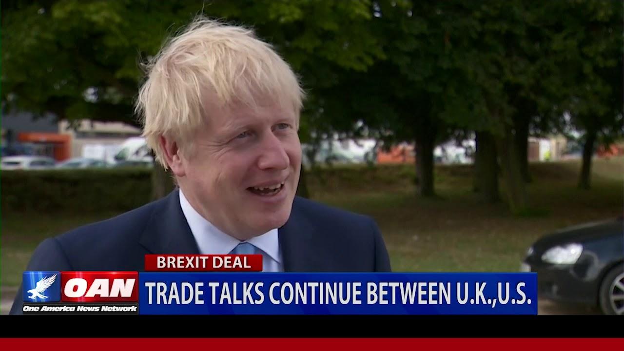 Trade talks continue between U.K. & U.S