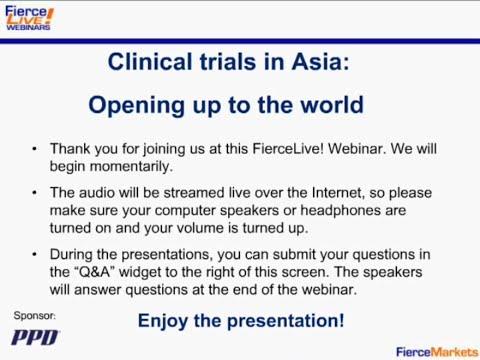 Clinical Trials in Asia