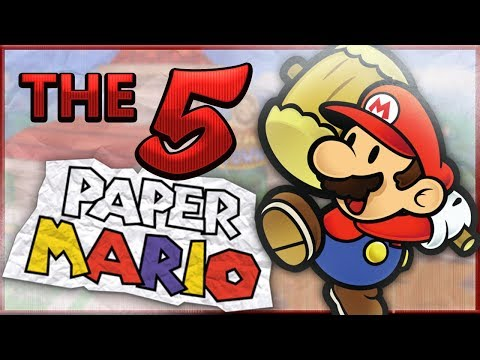 The 5 Best Aspects of Paper Mario 64