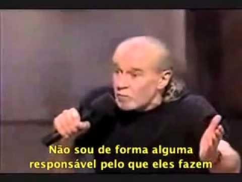 George Carlin - sobre políticos e eleições.