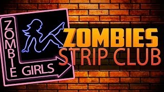 ZOMBIE STRIP CLUB ★ Left 4 Dead 2 (L4D2 Zombie Games)