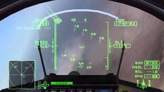 [Trick #01] Ace Combat Zero - B7R - Ace Mode w/ Gripen