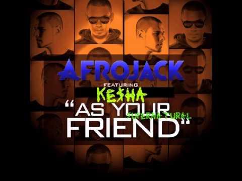 Afrojack Ft. Chris Brown Vs. Kesha - As Your Supernatural Friend (MASH-UP)