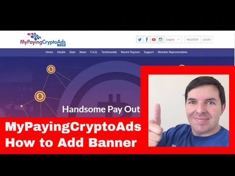 MyPayingCryptoAds How to buy ad packs and load banner to MPCA Part 1