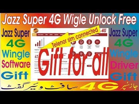 How To Unlock New Jazz Wingle super 4G,how to unlock w02-LW43 2019