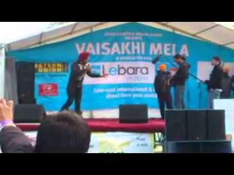 part 1 gurpreet ghugi live comedy performance in london.avi