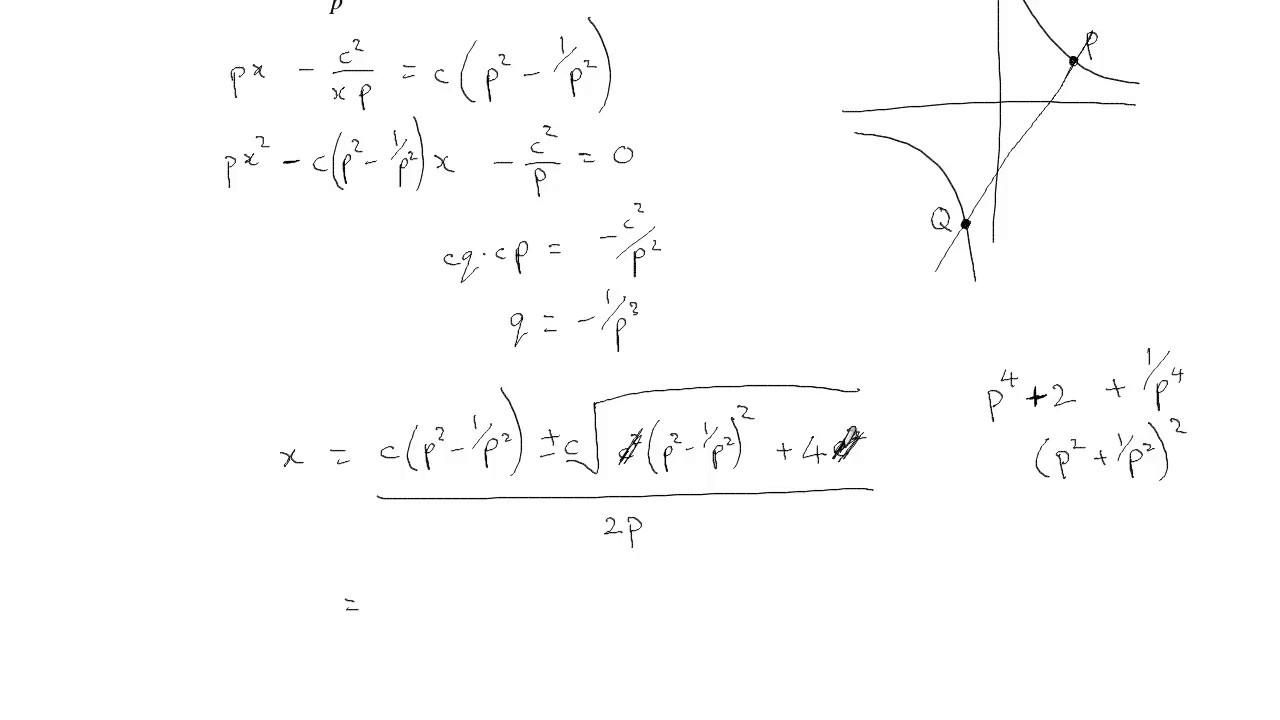 Maths exam walkthrough/solutions: 2016 HSC Mathematics Extension 2 part3/7